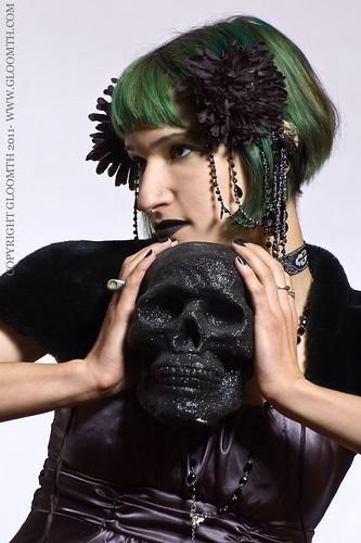 Gothic Art Nouveau Hair Style