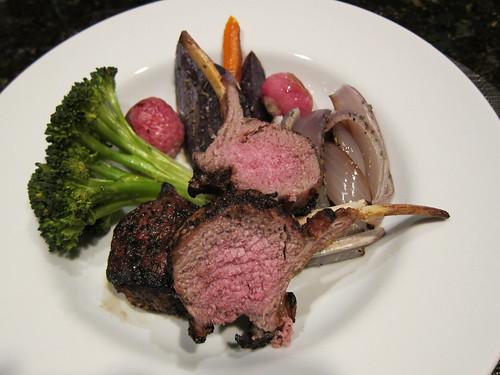 roasted, vege, vegetables, brocolli, red on… IMG_5025