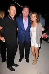 2011 South Beach Wine & Food Festival: Todd Thompson, The Cosmopolitan of Las Vegas CEO John Unwin, Television Personality Giada de Laurentiis