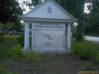 ORMEWOOD PARK PRESBYTERIAN CHURCH - REV. DANA HUGHES THREAT
