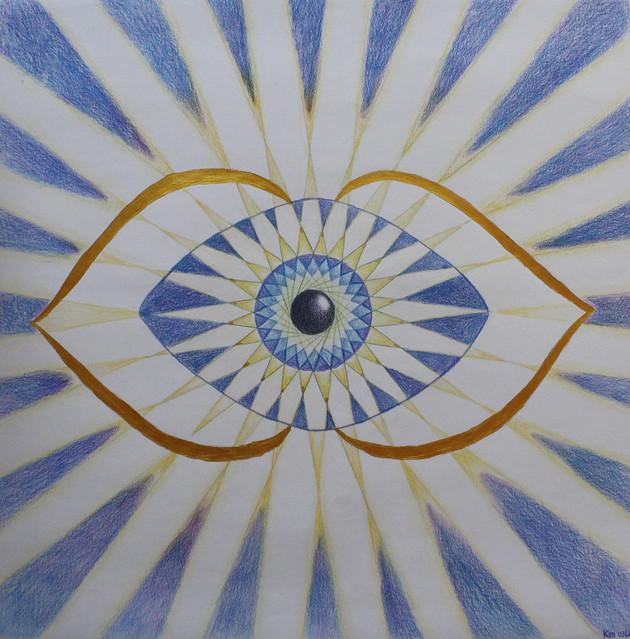 third eye 6th chakra mandala this is my drawing for
