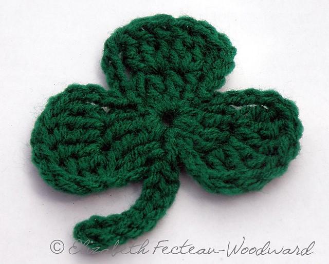 Crochet Shamrock Pattern Crochet Club
