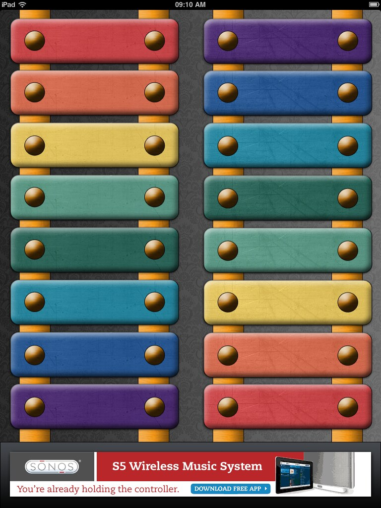 "ipad ""two player"" xylophone app"