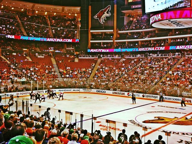 NHL at Jobing.com Arena