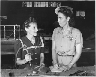 Pearl Harbor widows have gone into war to carry on the fight with a personal vengeance... 08/1942