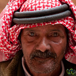 Old Bedouin Man at Petra - Jordan