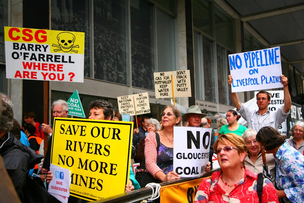 Can't Eat Coal, Can't Drink Gas Rally - Sydney
