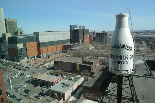 Montreal guaranteed milk bottle