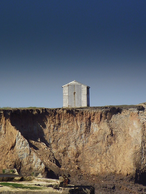 Shed on headland