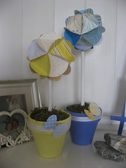 Paper Globes for the Nursery.