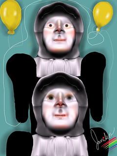 Twin Electronic Mennonite Balloonatrix by Janiko Electronics