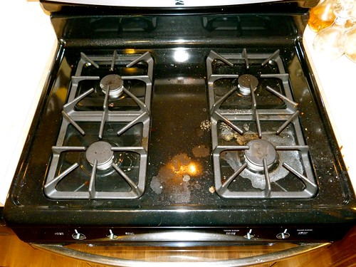whatever wednesday the shiny black stove top edition better life green cleaning products. Black Bedroom Furniture Sets. Home Design Ideas
