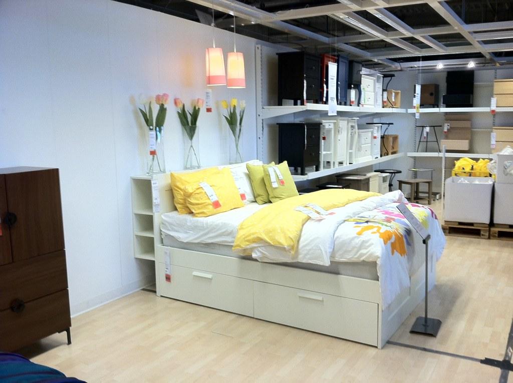 Minneapolis Auto Show >> IKEA Brimnes bed - a photo on Flickriver