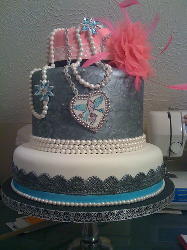 Rock n' Roll Wedding cake