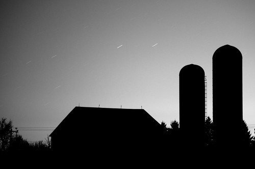 Barn Silhouette Drawing Barn And Silo Silhouette