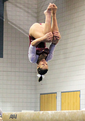 TWU Gymnastics Beam - Kristin Edwards
