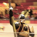The Mighty Yellow Knight - Medieval Times, Dinner & Tournament