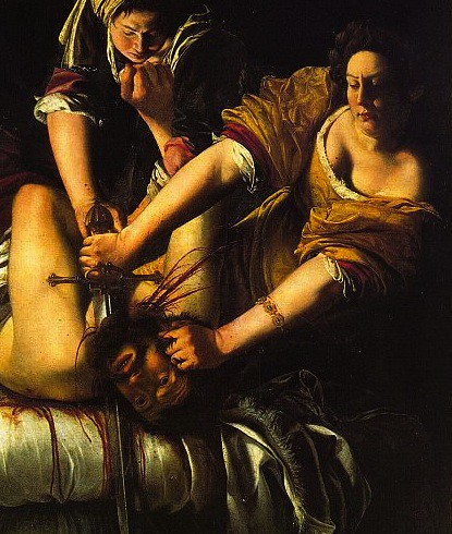 artemisia gentileschi judith slaying holofernes painting Learn about 2 baroque paintings in this art lesson on judith beheading holofernes by artemisia gentileschi & caravaggio which was by a man & which a woman.