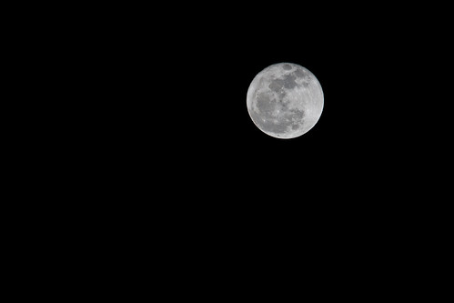 Full Moon (At 400mm)
