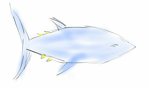 Ilustración: un atún