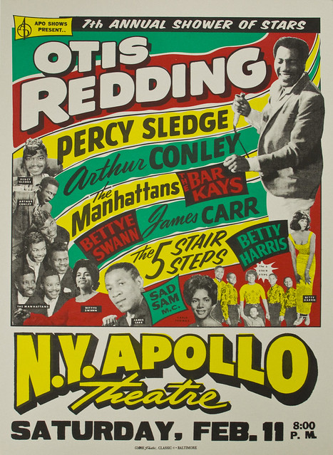 Poster_Otis Redding_NY Apollo