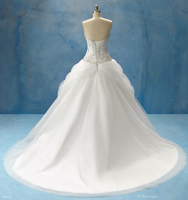 Disney Princess Wedding Dresses Belle : Belle bridal gown back flickr photo sharing