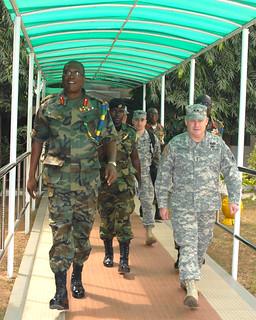 Maj. Gen. Hogg visits Ghana, Togo, Benin January 2011