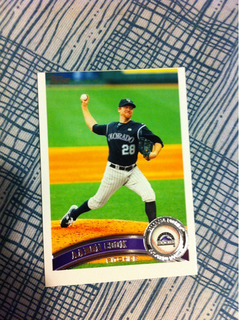 Just Busted My First Packs Of At Toppscards 2011 Baseball G