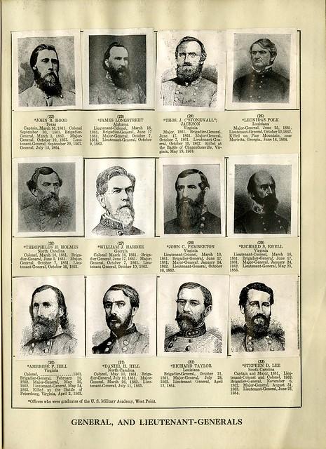 Confederate General and Lieutenant-Generals | Flickr ...