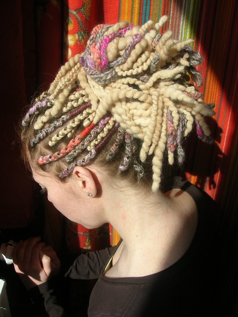 Crochet New Dreads : Pastel Multicolor Crochet Dreads With Blonde Wool Dreadlocks Flickr ...