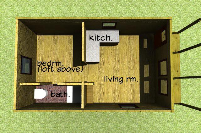 12x24 Cabin Plan Flickr Photo Sharing
