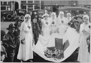 American Red Cross Parade, Birmingham, Alabama. Birmingham View Company., 05/21/1918
