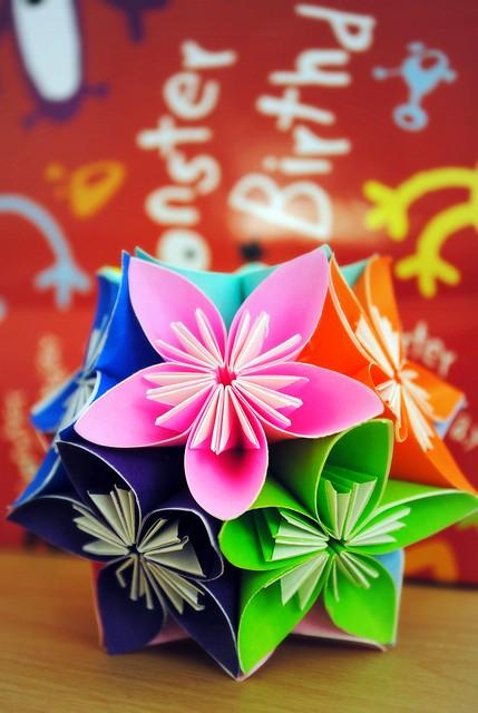 An origami birthday present   Flickr - Photo Sharing! - photo#2