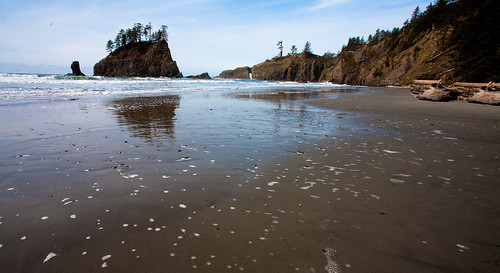 Second Beach views in Olympic National Park, Washington