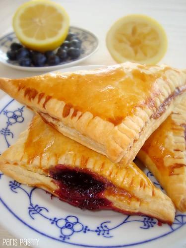 柠檬蓝莓馅饼