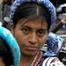 Muchacha bonita en la fiesta del pueblo; Joyabaj, El Quiché, Guatemala