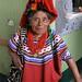 Mujer en ropa típica - Woman in traditional clothing; Joyabaj, El Quiché, Guatemala