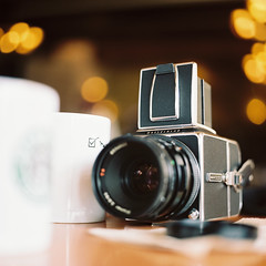 Portrait of a Hasselblad by Hasselblad
