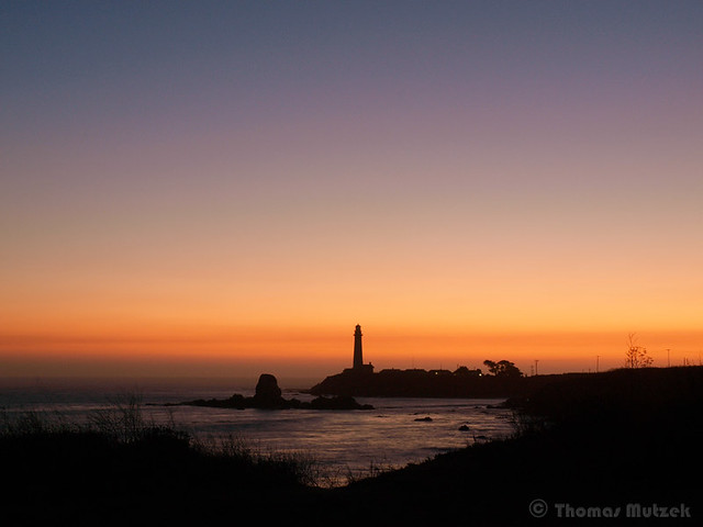 Pigeon Point Lighthouse and Prisoner Island, San Mateo, California, September 2009