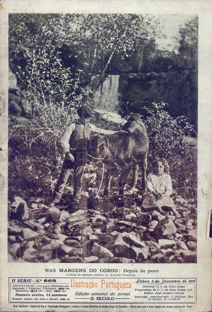 Ilustração Portugueza, Nº 668, Dezembro 9 1918 capa