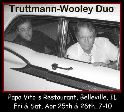Truttmann-Wooley Duo 4-25, 4-26-14