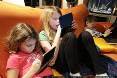 independent, yet social   one room, three kids, thre…
