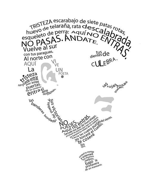 Caligrama Neruda