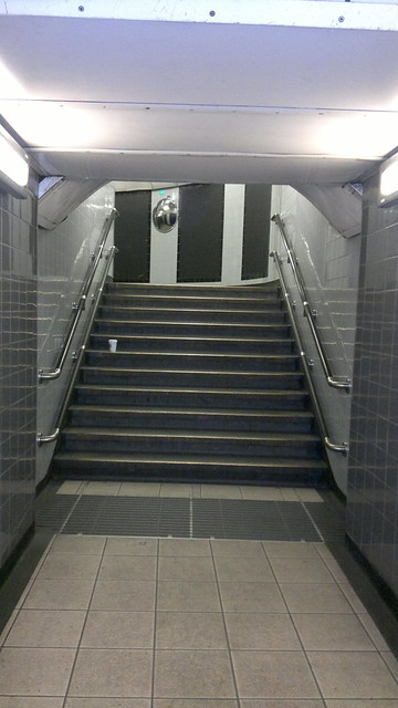Empty Undergound: stairs