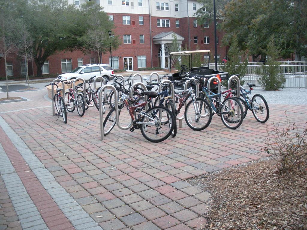 Bikes On Georgia Southern Campus