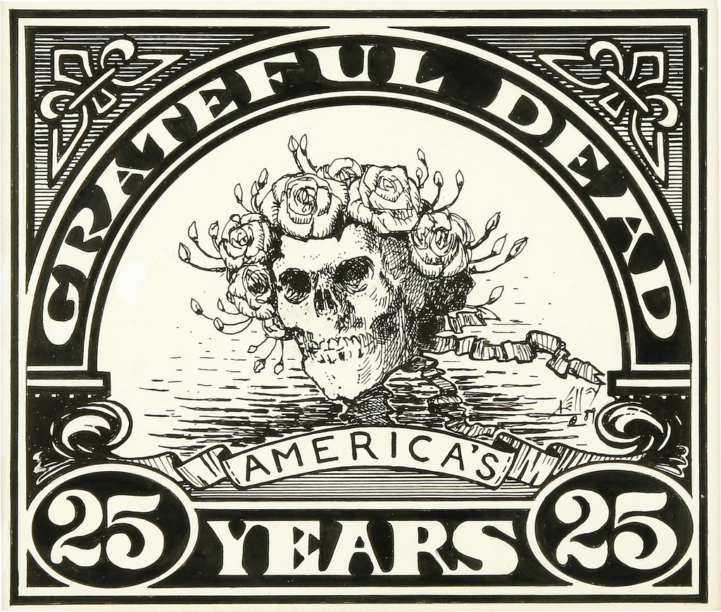 Alton kelley american 20th century grateful dead for Grateful dead coloring pages
