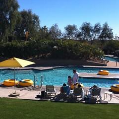 Lazy Heated Pool
