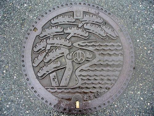 Takasago Hyogo manhole cover(兵庫県高砂市のマンホール)