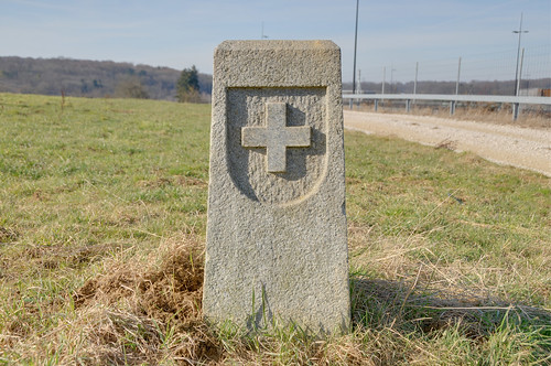 France-Switzerland boundary stone