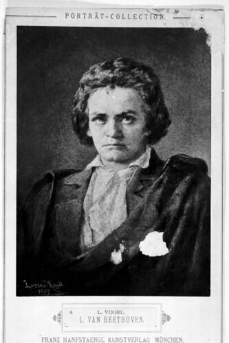 Ludvig van Beethoven portrait